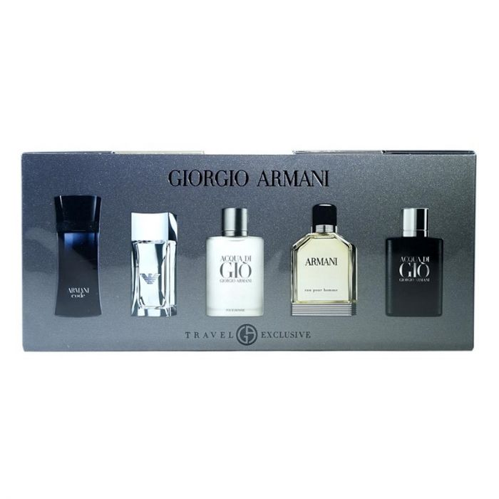 Giorgio Armani Men Minatures Set
