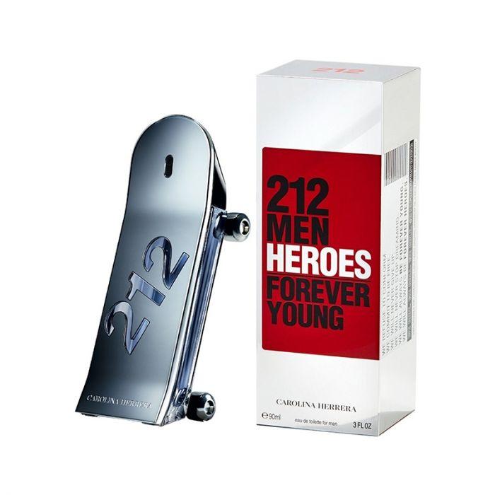 Carolina Herrera 212 Heroes Men Eau De Toilette 90ml