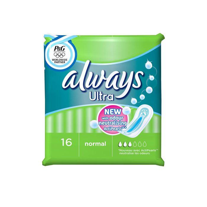 Always Ultra Normal 16 Pack Women