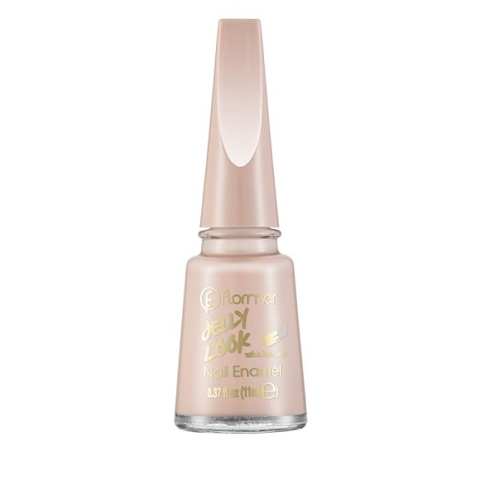 Flormar Jelly Look Nail Enamel - JL41 Whipped Cream