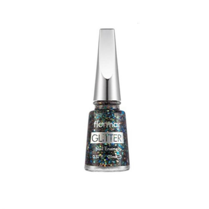 Flormar Glitter Nail Enamel - 17 Colorjoy