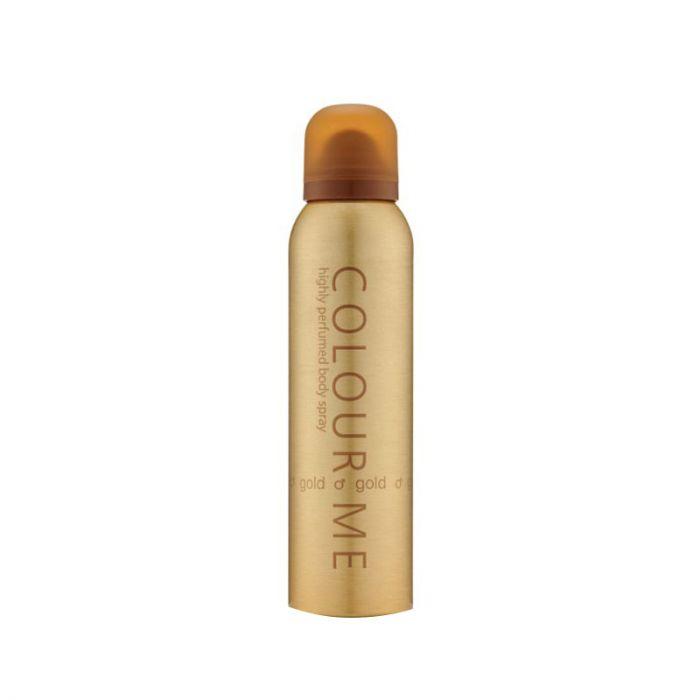 Colour Me Gold Men Perfumed Body Spray 150ml