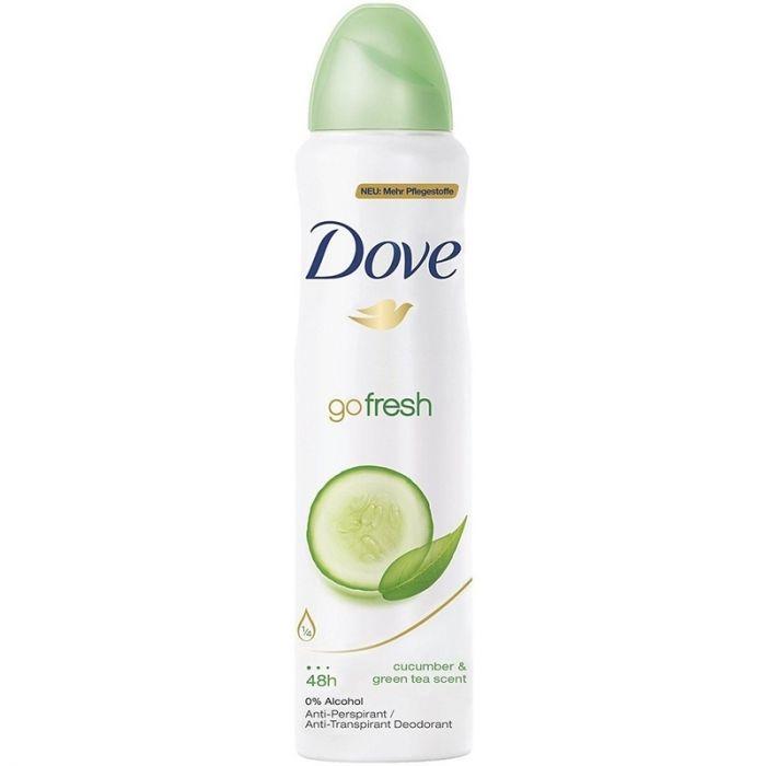 Dove Go Fresh Cucumber Deodorant Spray Women 150 Ml