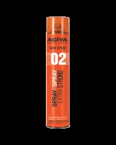 Agiva Extra Strong 02 Hair Spray 400ml