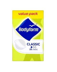 Bodyform Classic Panty Liners 25 Women