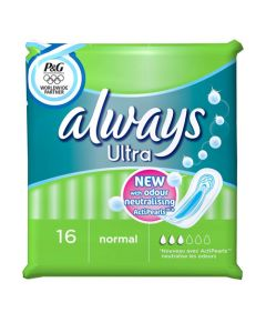 Always Ultra Normal 16 Pack Women