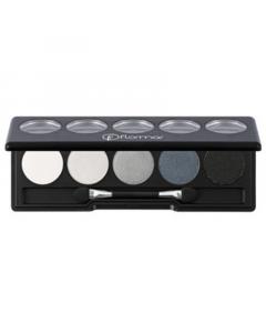 Flormar Color Palette Eye Shadow - 005 Black Dust