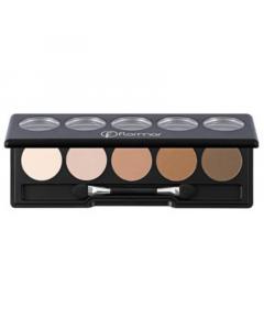 Flormar Color Palette Eye Shadow - 007 Nude Dudes
