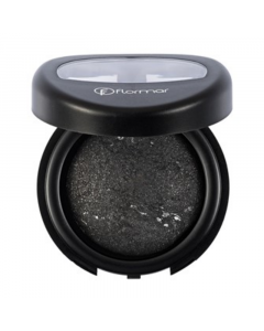 Flormar Diamonds Terracotta Eye Shadow - D02 Black Glitters