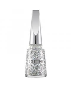 Flormar Glitter Nail Enamel - GL01 Stardust