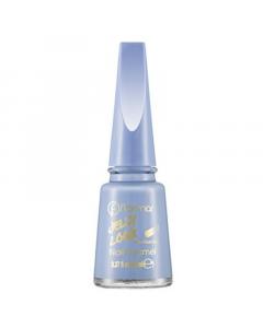 Flormar Jelly Look Nail Enamel - Crystal Blue