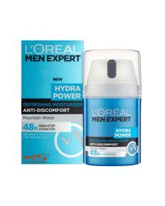 L'Oreal Men Expert Hydra Power Mountain Water Milk Pump 50ml