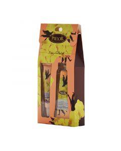Pielor Cosmetics Breeze Vanilla Hand Cream 30ml + Lip Balm 12ml Gift Set