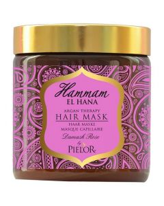 Pielor Hammam El Hana Argan Therapy Damask Rose Hair Mask - 500 ml