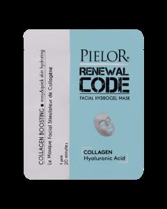 Pielor Renewal Code Facial Hydrogel Mask - Collagen Boosting