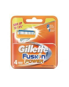 Gillette Fusion Power Cartridges 4Pcs