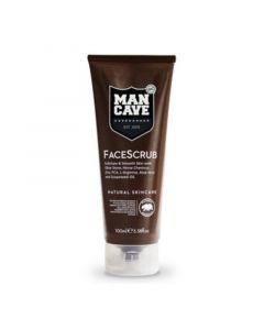Man Cave Face Scrub 100ml
